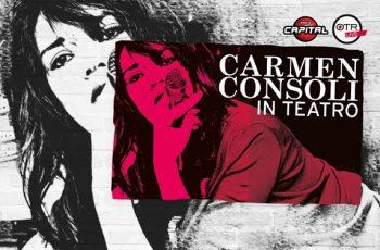 Carmen Consoli in teatro tour 2016 Catania