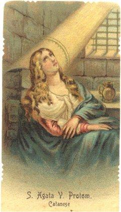 Il martirio di Sant'Agata