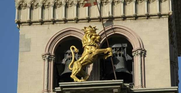 Leone Orologio Duomo di Messina