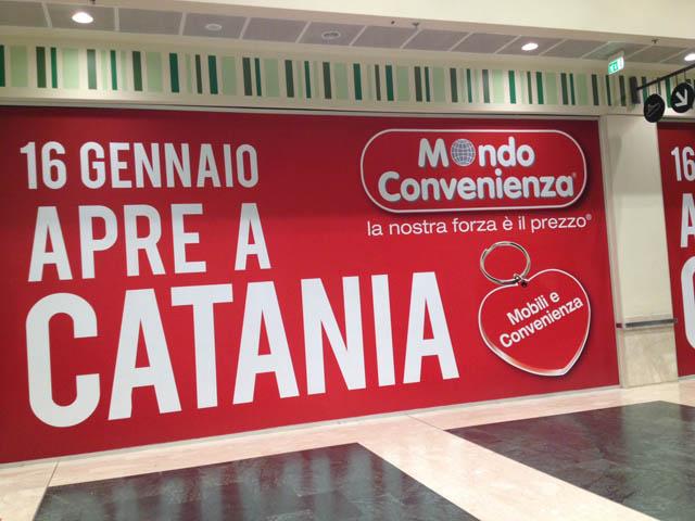Mobili Convenienza Palermo : Mondo convenienza catania apre il negozio ...