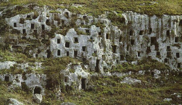 Necropoli di Pantalica Siracusa