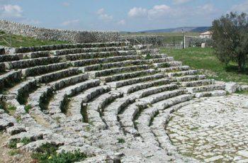 Palazzolo Acreide - Teatro greco Akrai